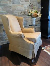 slipcover wing chair wing chair slipcover in spaces philadelphia with to chair