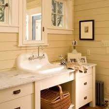 Cottage Bathrooms Pictures by A Sonoma Sand Finish Gives The Napa Vanities Their Special Organic