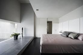 carrelage dans une chambre design interieur interieur minimaliste grand lit chambre coucher