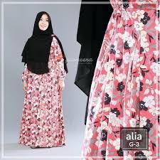 desain baju jepang gamis yasmeera alia dress g3 baju muslim wanita baju muslimah