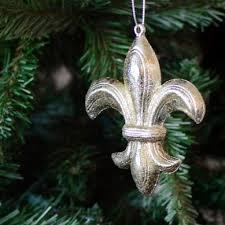 4 25 silver leaf fleur de lis ornament xy622887
