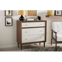 modern two tone nightstand rc willey furniture store