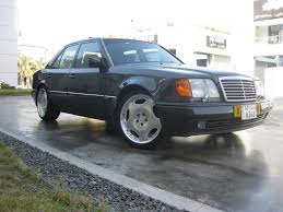 mercedes porsche 500e mercedes benz w124 500e with 19