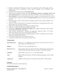 Oracle Dba 3 Years Experience Resume Samples by Oracle Dba