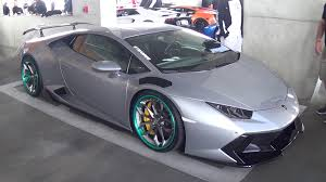 lamborghini modified silver lamborghini huracan novara on hre wheels at bullfest 2016