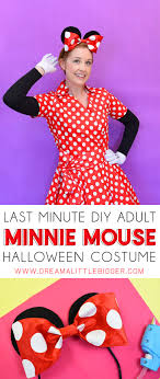 minnie mouse costume diy minnie mouse costume for adults a bigger