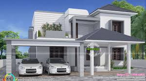 simple and elegant modern house kerala home design and elegant