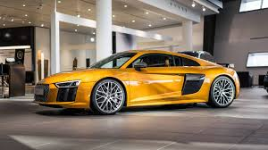 orange perleffekt audi r8 v10 plus by audi exclusive gtspirit