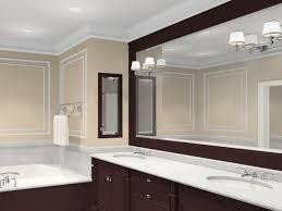 Backlit Bathroom Mirror by Bathroom Bathroom Mirror Shelf Frameless Wall Mirror 60 Inch