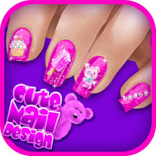 cute nail art manicure games for girls android apps on google play