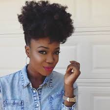afro puff pocket bun hairstyles natural updos curlynikki natural hair care