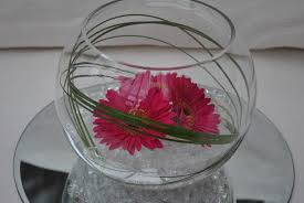 fish bowl centerpieces furniture accessories wonderful decorating of mirror center