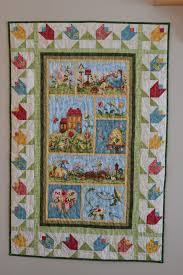 magpie quilts quilted wall hanging