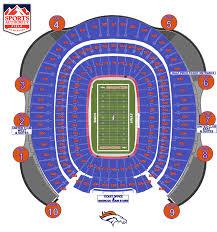 Arrowhead Stadium Map 13 Broncos Stadium Seating Chart Artist Resume