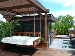 outdoor floating bed outdoor floating bed white bed