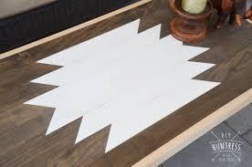 diy geometric wood table diy huntress