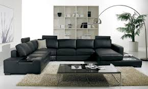 Leather Sofa Headrest Covers Black Leather Comfy Sofa With Headrest With Merged Sofa Black