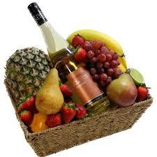 Wine Baskets Fruit Wine Gift Baskets Sunshine Coast Delivery