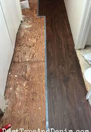 replacing the carpet with vinyl plank flooring hometalk