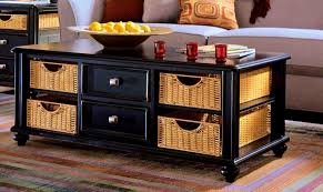 coffee table with baskets under bedroom outstanding storage coffee tables table baskets under coffee