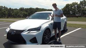 lexus gsf custom review 2016 lexus gs f youtube