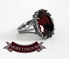 Gothic Wedding Rings by Good Gothic Engagement Rings 5 25 Red Gothic Ring Engagement