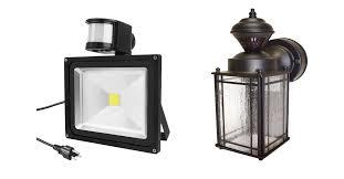 best motion sensor light good best outdoor motion sensor flood lights 62 in battery operated