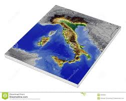 Modena Italy Map by Italy 3d Relief Map Stock Photo Image 3002950