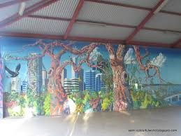 colourfulworld monday mural perth on the wall for those that follow my mural posts see you in a month s time when i return from my well deserved holiday