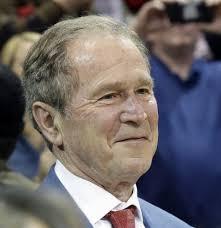 biography george washington bush george w bush is suddenly as popular as bill clinton the