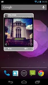 widget android show your instagram feed on your android home and lock screen with