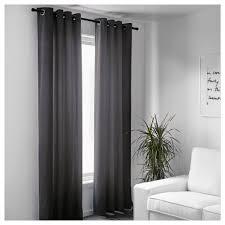 Gray And Teal Curtains Sanela Curtains 1 Pair 55x118 Ikea