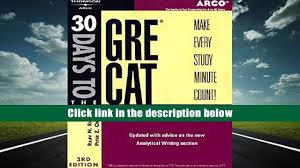 free download 30 daysto gre cat teacher tested strategies and