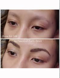 eyebrow permanent makeup by pawanrat kathi youtube
