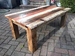 Building Reclaimed Wood Coffee Table by Reclaimed Barn Wood Table U2013 Thelt Co
