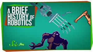 a brief history of robotics youtube