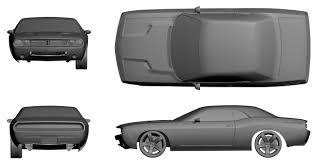Dodge Challenger Concept - dodge challenger concept 2007 smcars net car blueprints forum