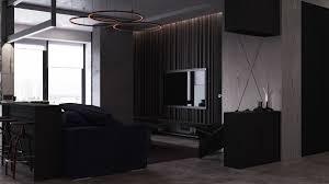 dark moody bachelor pad design 2 single bedroom l shaped examples