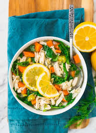lemon chicken orzo soup crock pot