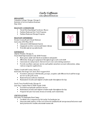 resume and certification by carly coffman issuu