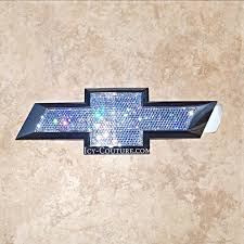 chevy silverado emblems with swarovski bling what your color