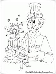 4th of july coloring pages getcoloringpages com
