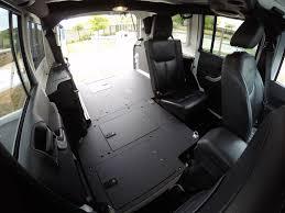 jeep wrangler backseat jeep jku 60 sleeping platform for floor plate 2007 2017 4 door
