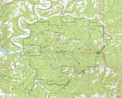 Oak Mountain State Park Trail Map by Hiking Branson U0027s Trails Branson Mo