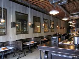 commercial interior faux finish at public house bar