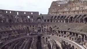 a look inside the colosseum rome italy youtube