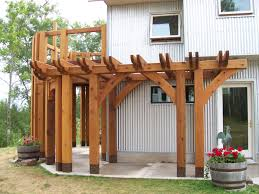 wrap around pergola rather than a wrap around porch for the