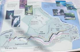 Niagara Falls State Park Map by Taughannock Falls