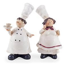 leonard the chef statue figurine home decor kitchen