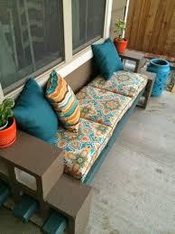 the pry posse diy cinder block bench backyard bliss